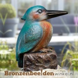 Bronzen ijsvogel beeld BBW37237