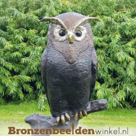 Bronzen uil tuinbeeld BBW57490