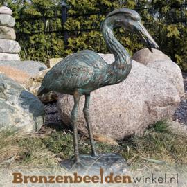 Bronzen reigers