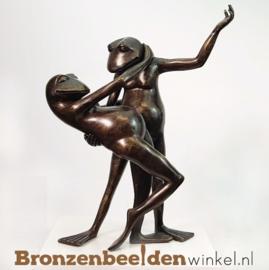 Beeld dansende kikkers (klein) BBW1723