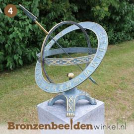 NR 4 | Cadeau vrouw 75 jaar ''Zonnewijzer met extra ring'' BBW0184br