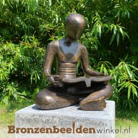 """Figuratief tuinbeeld """"De Lezer"""" BBW91235br"""