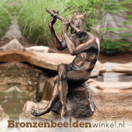 Bronzen Faun Grieks beeld BBW89930