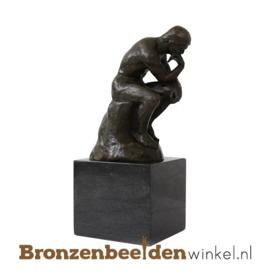 NR 8 | 70 jaar bestaan bedrijf cadeau ''De Denker'' BBW001br54