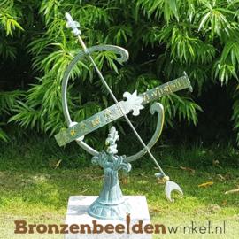 NR 1 | Cadeau man 40 jaar ''Bronzen zonnewijzer'' BBW0221br