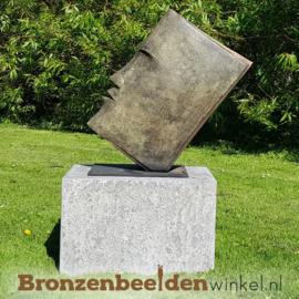 """Bronzen tuinbeeld """"De Wijze"""" BBW1439"""