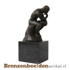 "Afscheidscadeau ""De Denker op sokkel"" BBW001br54"