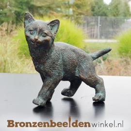 Herinnering katten beeld brons BBWR89005