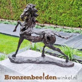 Abstract paarden beeldje BBW88194