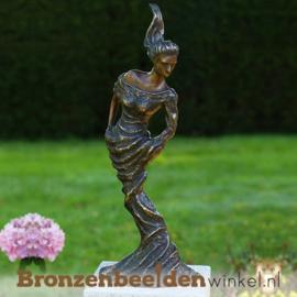 """Bronzen tuinbeeld vrouw """"Independant Woman"""" BBW1814"""