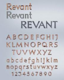 Losse letters Revant