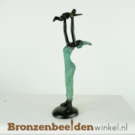 "Afrikaans beeld ""Imena en Kofi"" 16 cm BBW009br42"