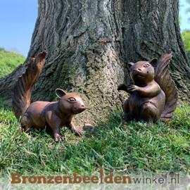 Bronzen eekhoorn set BBW1213BR