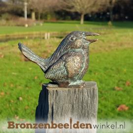 Vogel beeldje in brons BBWR88499
