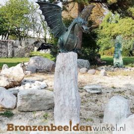 Bronzen draken beeld BBWR90167