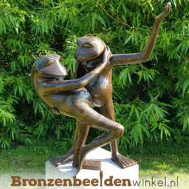"Tuinbeeld ""Swingende Kikkers"" BBW0359br"
