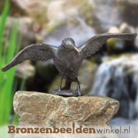 Beeld raaf van brons BBW84228