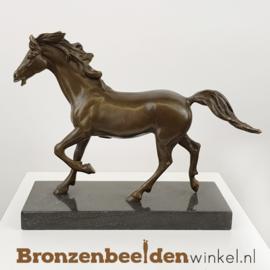 Bronzen paarden beeldje BBWBMbr25