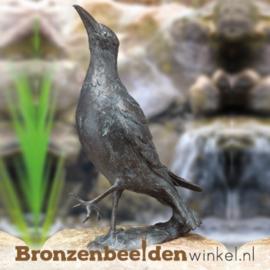 Bronzen raaf beeld BBW84225