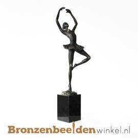 Ballerina beeldje brons BBW003br51