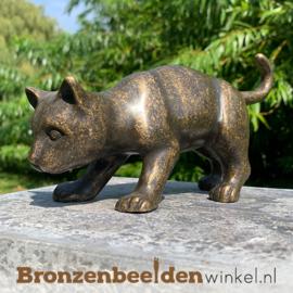Bronzen katje BBW0017br