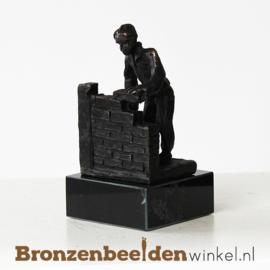 """Beroepen beeldje """"Metselaar""""  BBW003br59"""
