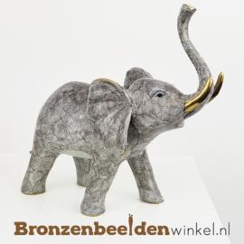 Beeld olifant brons BBW1855br