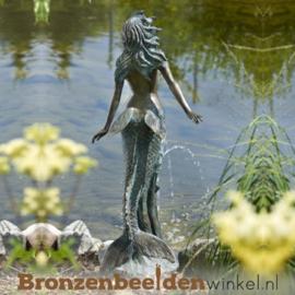 Vijver beeld zeemeermin BBWR88177