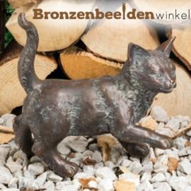 Bronzen kat BBW37256