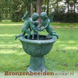 Bronzen fontein met engelen BBW853