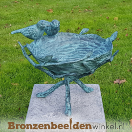 Vogelbad in brons BBW1815br