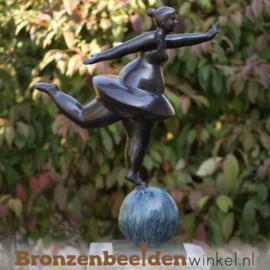 "Dikke Dames kunst tuinbeeld ""Ballerina""  BBW2561br"