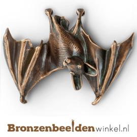 Bronzen vleermuis beeldje BBW37259