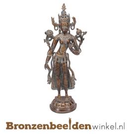 "Bronzen Boeddha beeld ""Avalokitesvara"" BBW37263"
