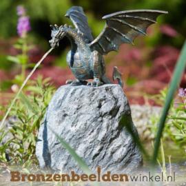 Draken beeld brons BBWR90169