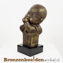 "Geboorte cadeau ""Duimende baby"" BBW010br001"