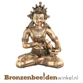 "Bronzen Boeddha beeld ""Jambhala"" BBW37210"
