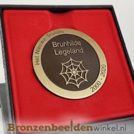 Bronzen erepenning 5 cm
