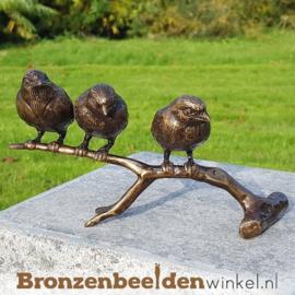 NR 1   Bronzen musjes op tak BBW0399br