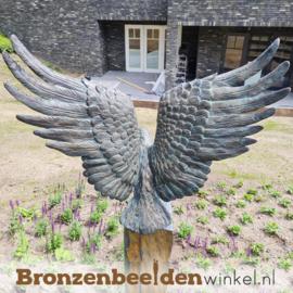 Beeld adelaar brons BBWR88859