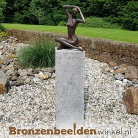 Bronzen tuinbeeld vrouw abstract BBW1189br