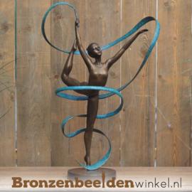 Beeldje danseres met lint BBW2418br