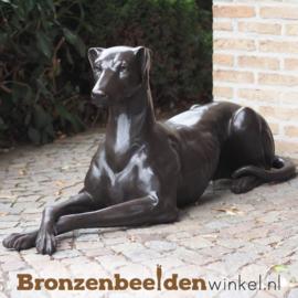 Bronzen beeld hazewindhond (rechts) BBW94540