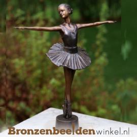 Ballerina beeldje brons BBW2299br