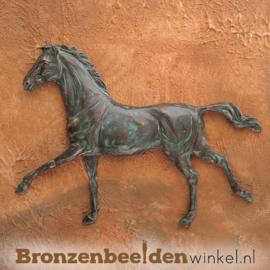Paarden beeldje voor aan de wand BBWR88335