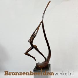 """Figuratief tuinbeeld """"De Sprong"""" BBW005br07"""