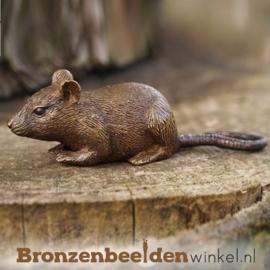 Beeldje muis in brons BBW1327br