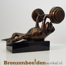 Beeld krachtsport kikker BBW1726