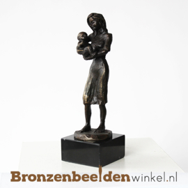 """Geboortebeeldje """"Moeder met kind"""" BBW002br61"""