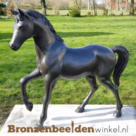 Bronzen tuinbeeld paard BBW1199